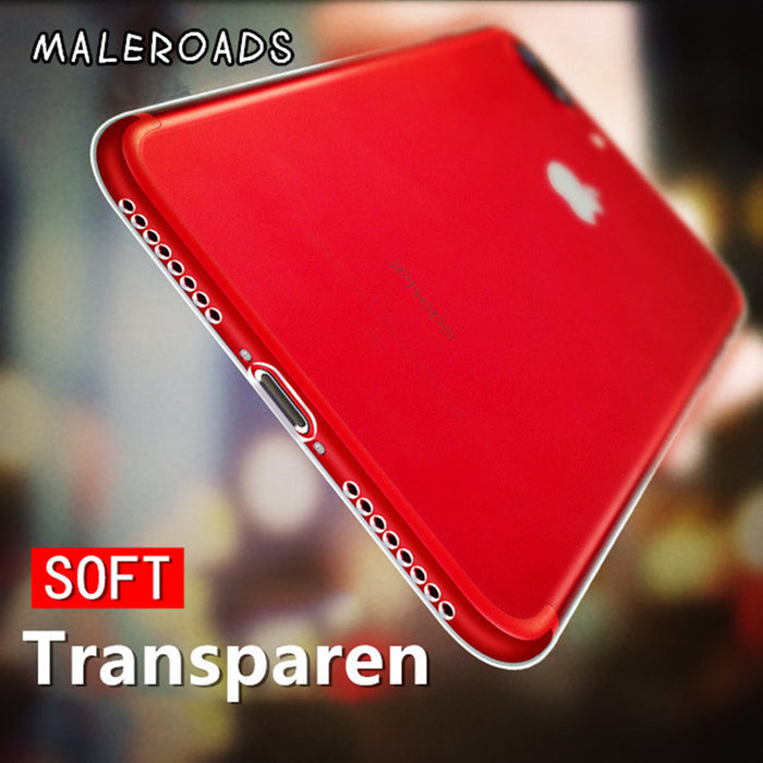 Transparent Soft Protection Cases Clear Silicon TPU Ultra thin Cover - iDeviceCase.com
