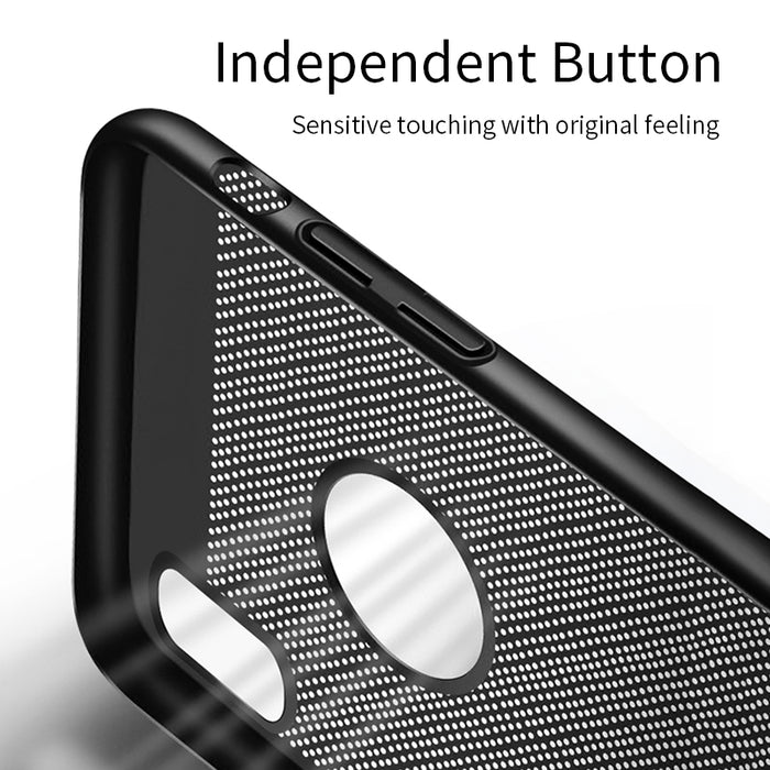MANTIS Heat Dissipation Phone Hard Back PC Case Full Protective Matte Breath Phone Bag Case - iDeviceCase.com