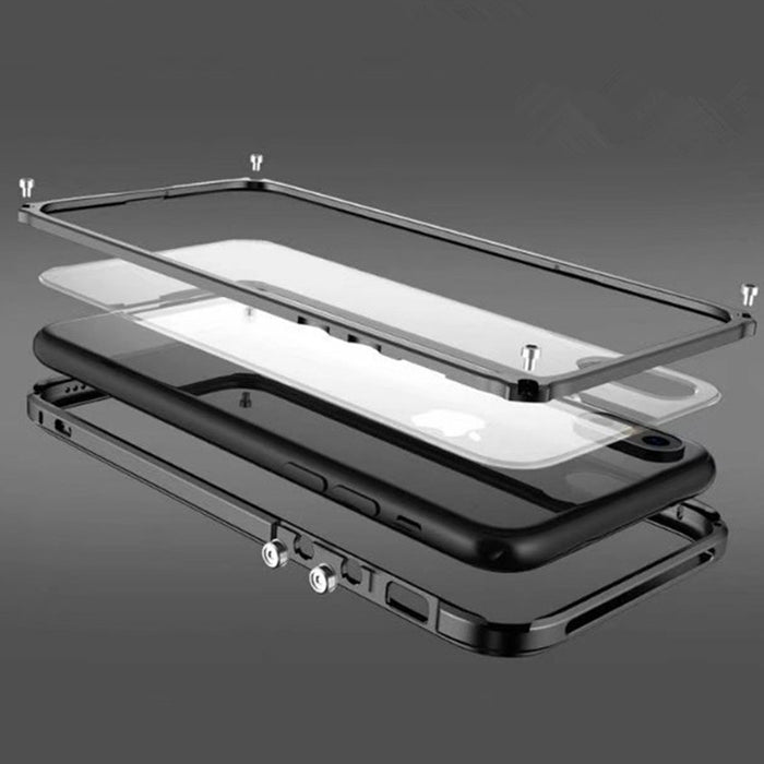 Original Brand BOBYT High Quality Luxury Aluminum Metal Bumper For Apple iphone X Case Aluminum Frame With Metal Button - iDeviceCase.com