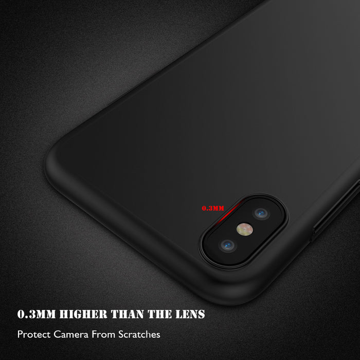 RAXFLY Soft Silicone Case For iPhone X 7 6 6s Plus TPU Matte Ultra Thin Phone Cases For iPhone 7Plus 6Plus Luxury Cover - iDeviceCase.com