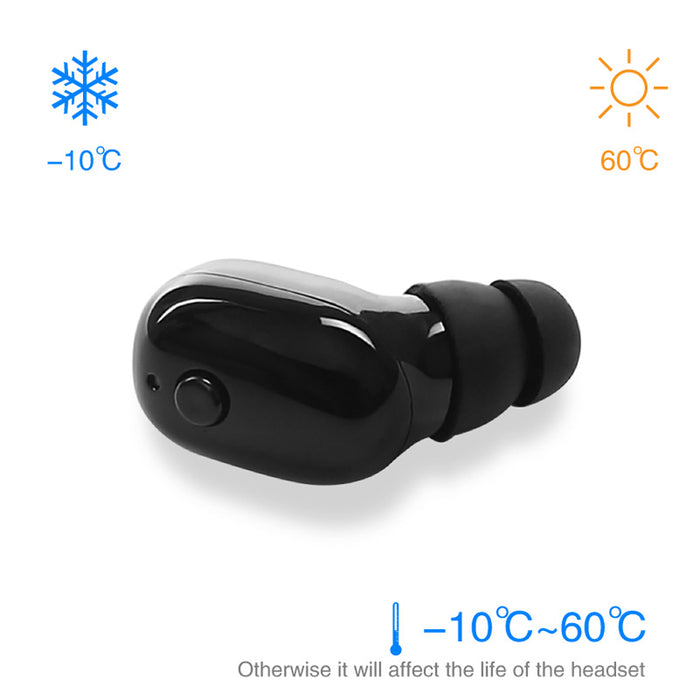 Mini V4.2 Wireless Bluetooth Earphones IP68 Waterproof Running Swimming Ear Earbud Stereo Sport Headphone Headset With Mic - iDeviceCase.com