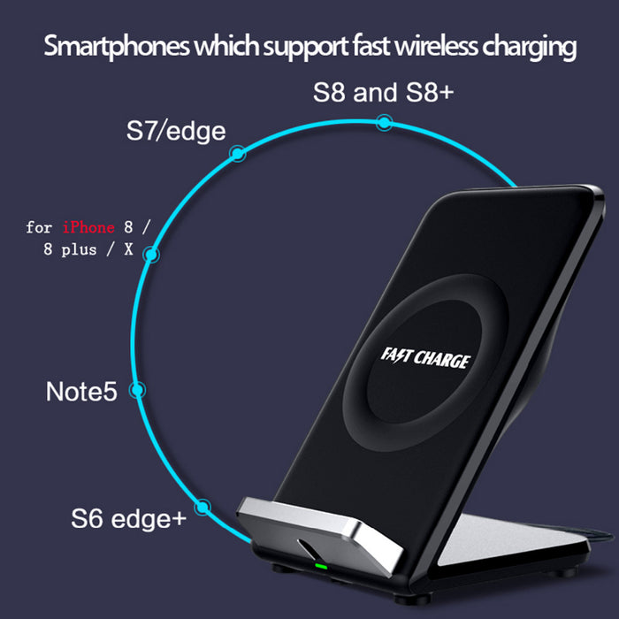 [Qi Wireless Charger For iPhone 8 plus X],Norwolf Original Wireless Charger Charging Pad - iDeviceCase.com