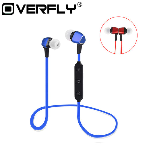 Magnet Metal Sports Bluetooth Earphone Wireless Earbud Stereo Headset With Mic Neckband Headset - iDeviceCase.com