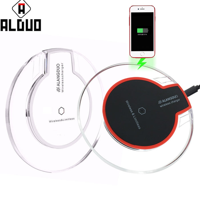 ALANGDUO Universal Qi Wireless Power Charger Charging - iDeviceCase.com