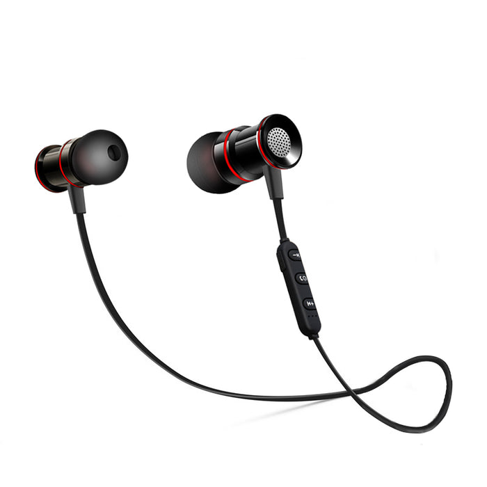 SWZYOR S02 Wireless Headphone Bluetooth V4.1 Earphone Metal Headset Bass Earbuds With Mic - iDeviceCase.com