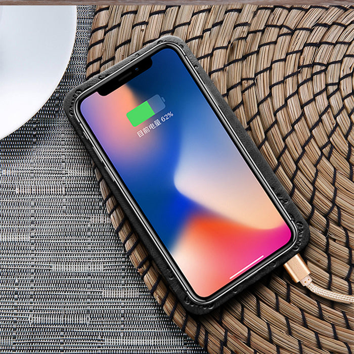 Qi Wireless Charger 5V/2A PU leather Ultra thin wireless charger pad - iDeviceCase.com