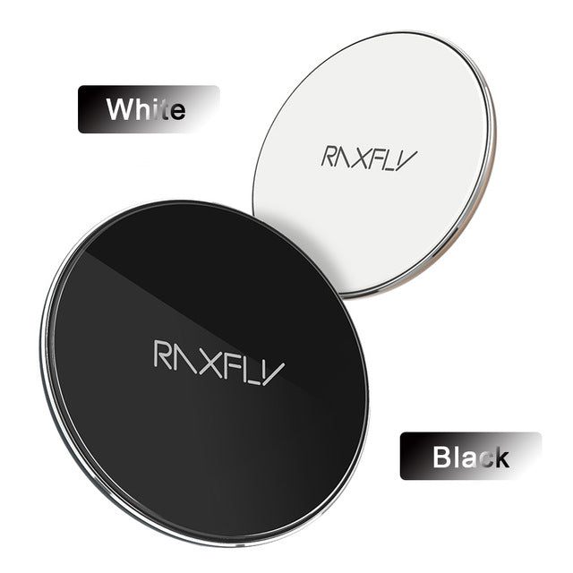 RAXFLY Qi Wireless Charger Adapter Pad For iPhone X 8 Samsung Galaxy S8 Note  8 Original Wireless Charger Dock - iDeviceCase.com