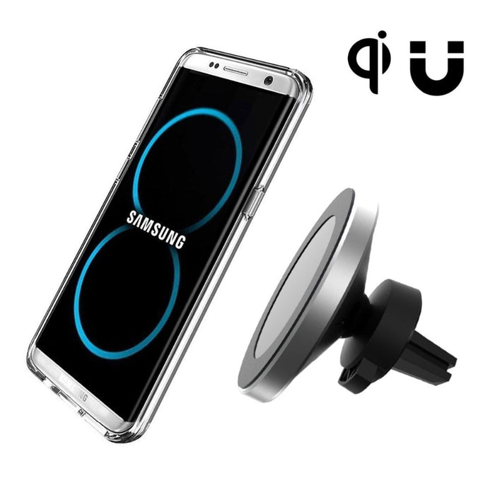 360 Degree QI Wireless Car Charger Holder Magnetic Air Vent Mount Dock - iDeviceCase.com