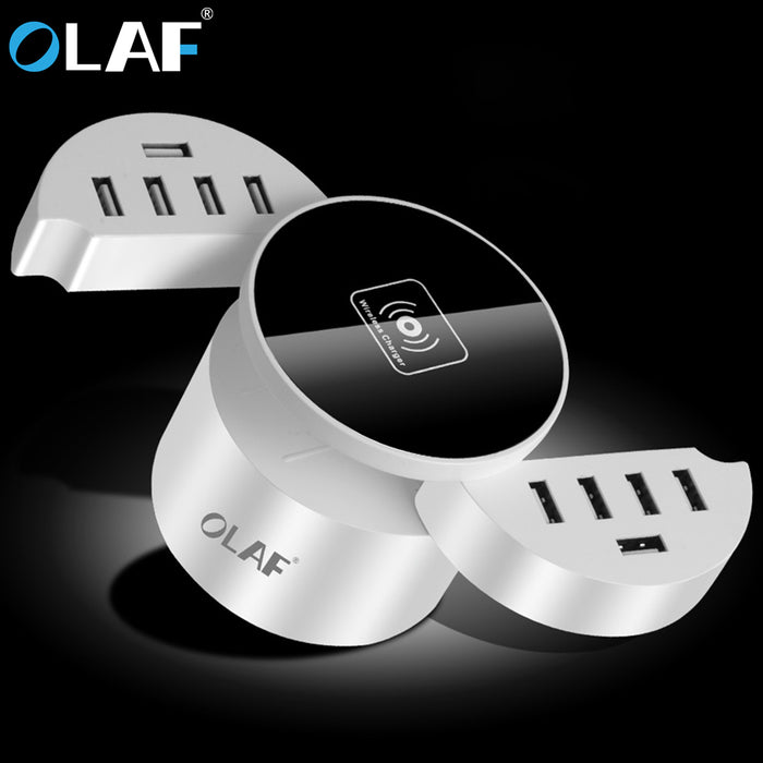 10 port usb charger Qi Fast Wireless Charger - iDeviceCase.com