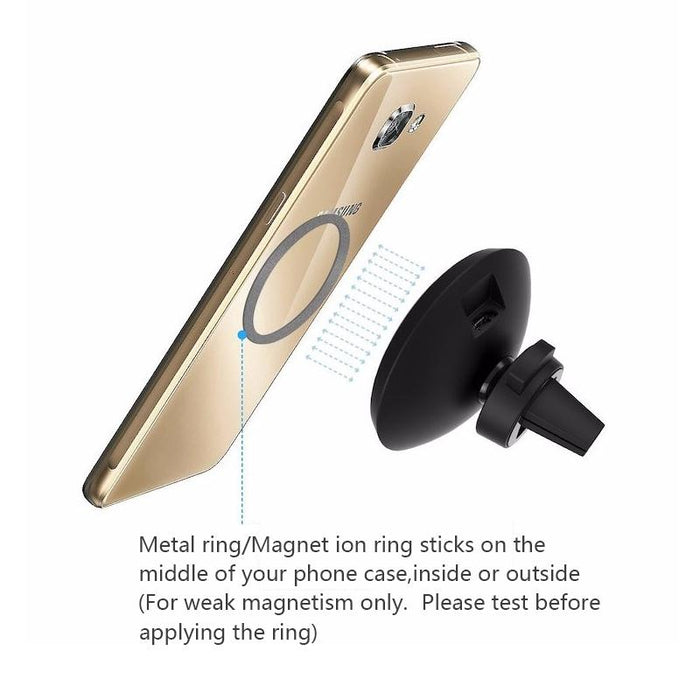 Group Vertical 360 Degree Rotation QI Standard Phone Car Magnetic Wireless Charger - iDeviceCase.com