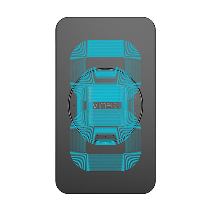 Vinsic 3 Coils Portable Original Wireless Charger Charging Pad - iDeviceCase.com