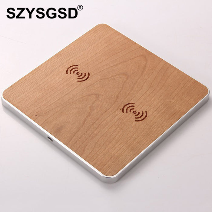 SZYSGSD Dual Qi Wireless Charger Pad wireless Charging - iDeviceCase.com