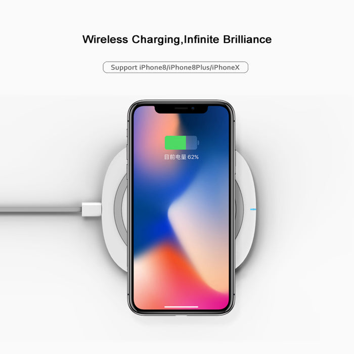 Ascromy Fast Wireless Charger Wireless charging stand - iDeviceCase.com