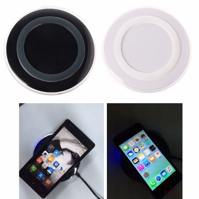Universal Ultra-slim Ring Shape Qi Wireless Charger Pad - iDeviceCase.com