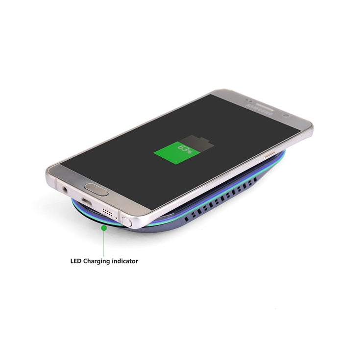 Fast Wireless Charger,Itian Quick Qi Wireless Charger for iPhone 8/X Samsung Galaxy Note8/S8/S8+ S7 S7 edge Note5 S6 edge + S6 - iDeviceCase.com