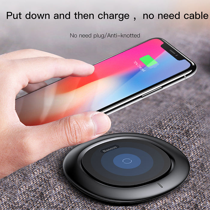 Baseus Qi Wireless Charger For iPhone X 8 Plus Fast Wireless Charging Pad - iDeviceCase.com