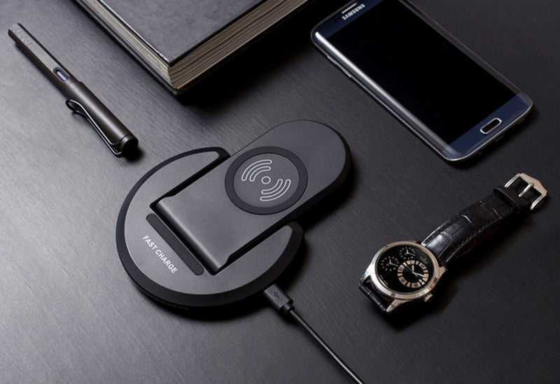 ECDREAM genuine fast wireless charger multi-angles dock station for phone battery power quick charging - iDeviceCase.com