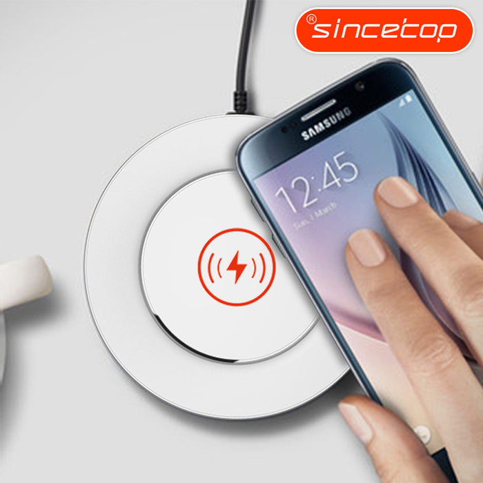 SINCETOP Qi wireless charger Portable Travel usb quick charging Adaptive Fast Charger - iDeviceCase.com