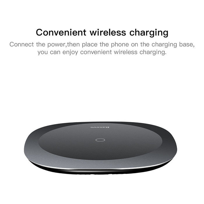 Baseus Desktop Wireless Charger for iPhone X Fast Wireless Charging Devices Charger - iDeviceCase.com
