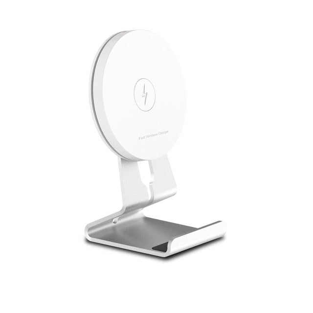 ECDREAM fast wireless charger aluminium stand - iDeviceCase.com