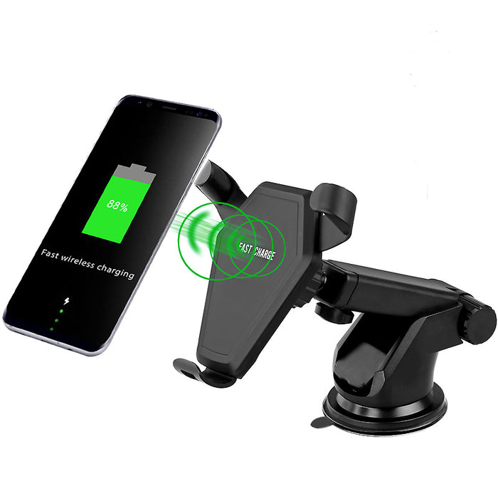 Wireless Universal Mobile Phone Charging Charger Car Stand Sucker Car Holder - iDeviceCase.com