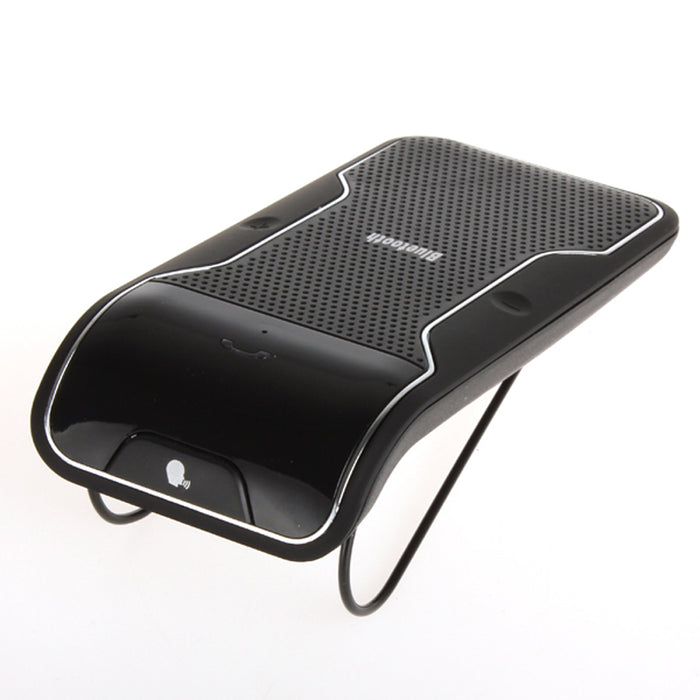 Wireless Bluetooth Handsfree Car Kit Speakerphone Sun Visor Clip 10m Distance with Car Charger - iDeviceCase.com