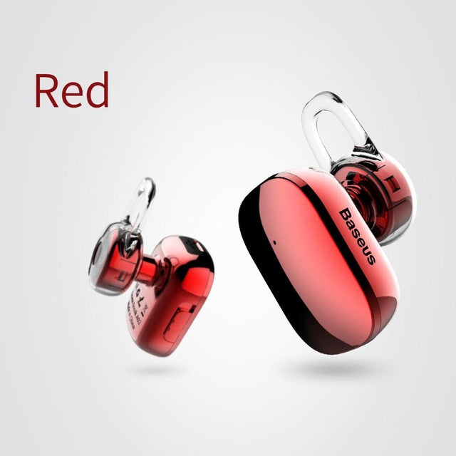 BASEUS Brand Finger-Touch Manipulation Mini Wireless Bluetooth Earphone - iDeviceCase.com