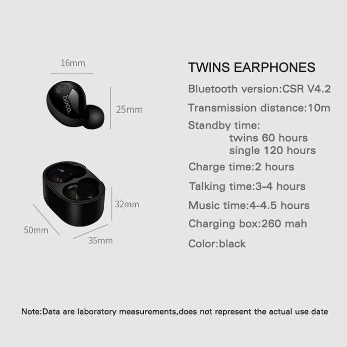 Twins Earphones Deep Bass sports Bluetooth headphones with microphone charger box - iDeviceCase.com