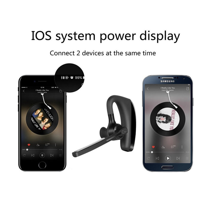 V8 voyager legend Bluetooth earphones Hands Free Wireless Stereo Bluetooth Headphones - iDeviceCase.com
