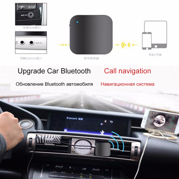 Hangrui L8 Wireless Bluetooth Earphone Car kit Hands Free Music Audio Receiver Bluetooth Headset support music - iDeviceCase.com