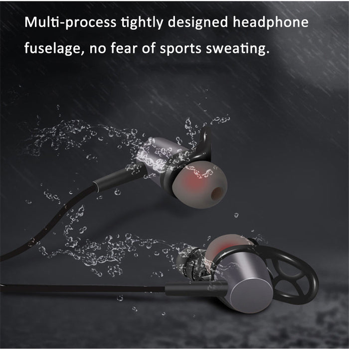 Original HJCF Wireless Bluetooth Earphone Magnetic Sweatproof Bluetooth Stereo Sports Earphone With Mic Support Apt-X S1 - iDeviceCase.com