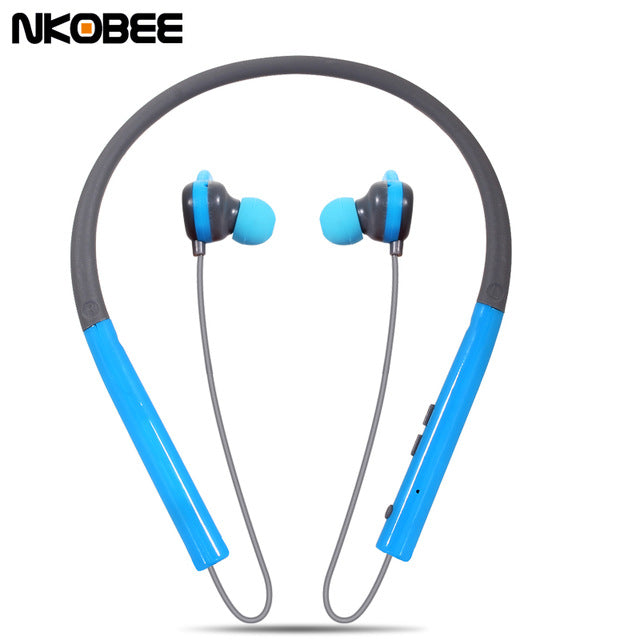 Wireless Casque Bluetooth Earphone Noise Reduction Neck hanging Ear Phones - iDeviceCase.com