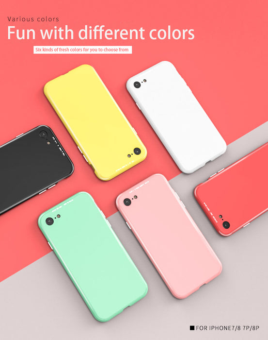 360 Full Protection Case For iPhone XS Max XS XR X With Glass Film Magnetic Adsorption Glass Case For iPhone 7 8 6 6S Plus Coque - iDeviceCase.com