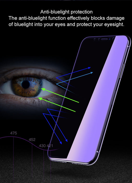 Baseus 0.23mm Screen Protector For iPhone XS Max XR Tempered Glass Front Cover Film Protective Glass For iPhone 6.5 6.1 5.8 inch - iDeviceCase.com