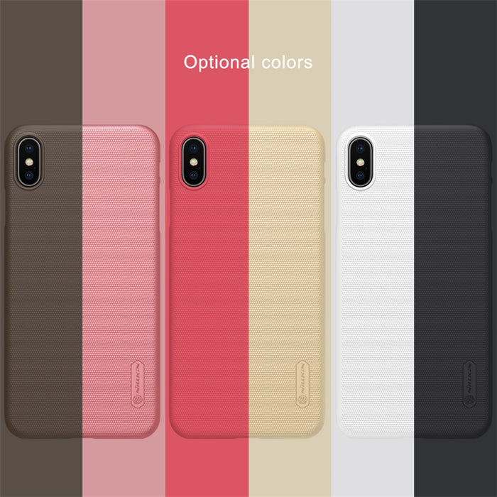 Super Frosted Shield XS For iPhone XS Max Case Nillkin PC Hard Back Cover Case for iPhone XR Case 6.5/6.1/5.8 inch +gift - iDeviceCase.com