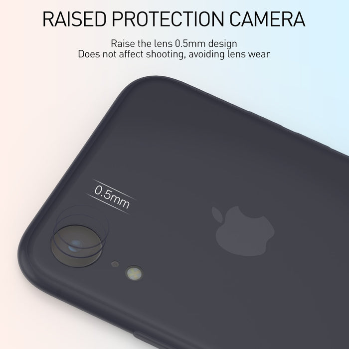 KEYSION Phone Case for iPhone XS Max XR Ultra-thin 0.45mm Micro-matte soft TPU silicone anti-slip Back Cover for iPhone XR XS - iDeviceCase.com
