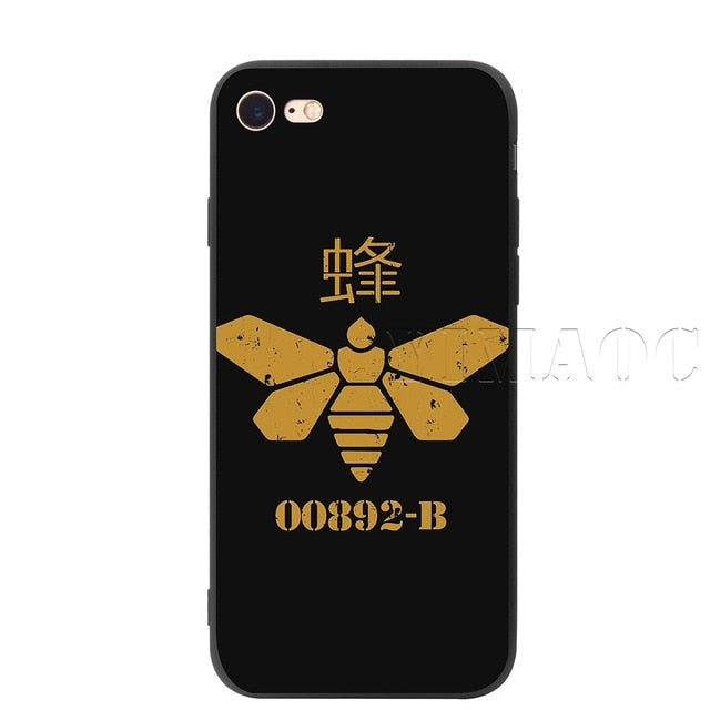 YIMAOC Heisenberg Breaking Bad Silicone Soft Case for iPhone XS Max XR X 8 7 6 6S Plus 5 5S SE - iDeviceCase.com