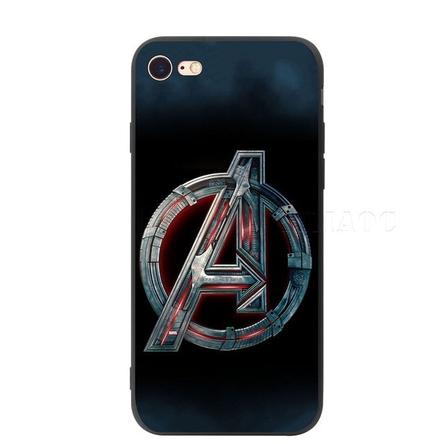 YIMAOC Avengers Infinity War Soft Silicone Case for iPhone XS Max XR X 8 7 6 6S Plus 5 5s se - iDeviceCase.com