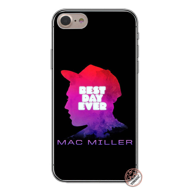 YIMAOC Macs Miller Soft Silicone Cover Case for Apple iPhone XS Max XR X 6 6S 7 8 Plus 5 5S SE 10 TPU Phone Cases - iDeviceCase.com