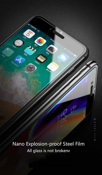 Tempered Glass on iPhone 7 6 6s 8 Plus Glass Protection Protective Film On Se 5s 5 For iPhone X XS XR XS MAX Screen Protector - iDeviceCase.com