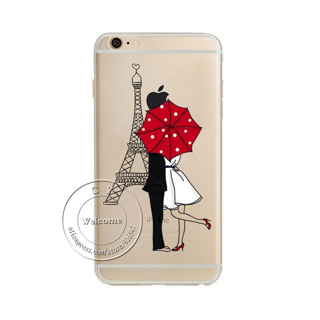 For iPhone XS Max XR X 4 4S 5 5S 5C SE 6 6S 7 8 Plus Dream Catcher Tinker Bell Tower Design Soft TPU Capa Silicon Case Cover - iDeviceCase.com