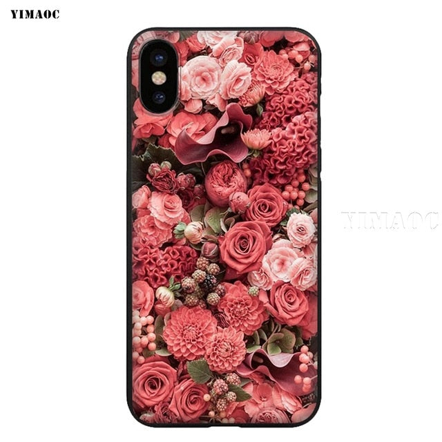 YIMAOC Peaky Blinders Silicone Soft Case for iPhone XS Max XR X 8 7 6 6S Plus 5 5S SE - iDeviceCase.com