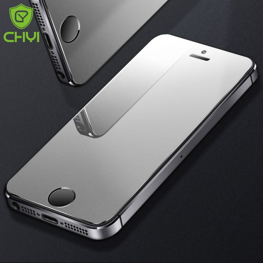 CHYI frosted matte For iphone SE tempered glass 9h hardness Iphone 6 7 8 explosion-proof protective glass For iphone Xs max X - iDeviceCase.com