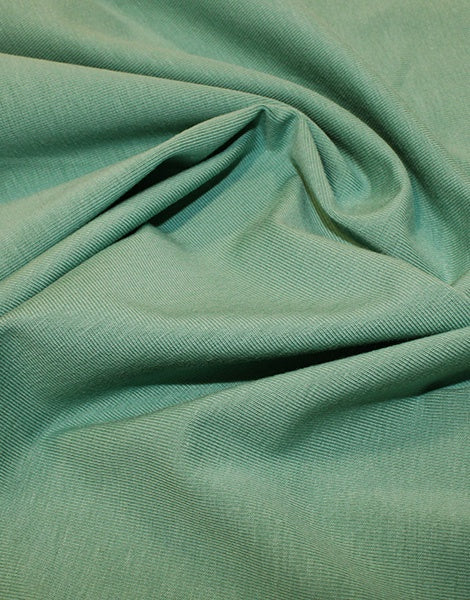 Sage Green Organic Cotton Jersey Fabric