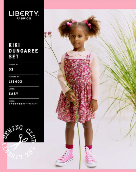 Liberty Kiki Children's Dungaree Set Sewing Pattern