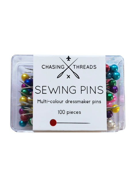 Rainbow Sewing Pins, Chasing Threads Accessory