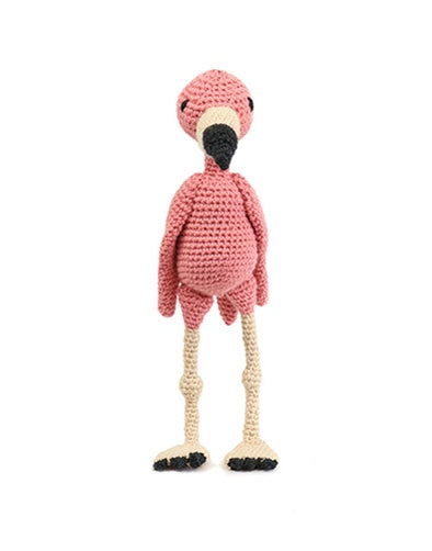 Cindy the Flamingo Crochet Kit from Toft Edward's Menagerie