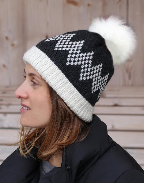 Toboggan Hat Knitting Kit from Toft
