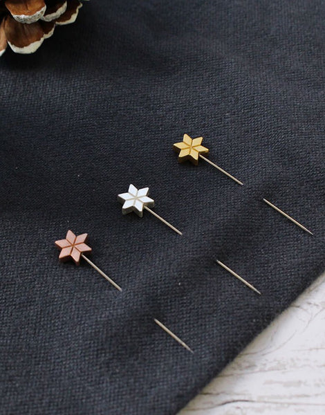 Star Marking Pins from Cohana