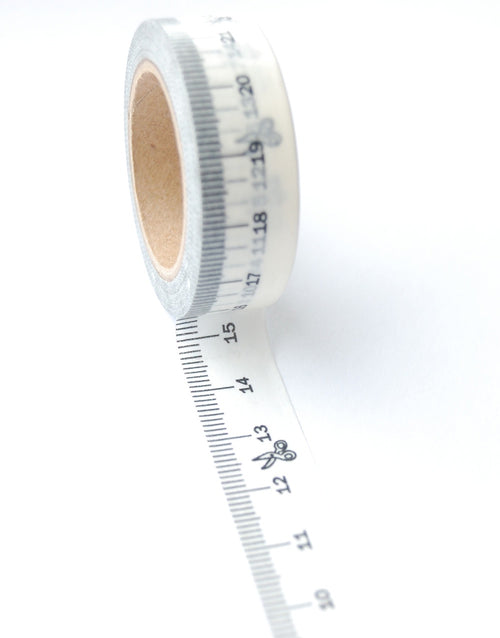 Measuring Tape Washi, Patterntrace